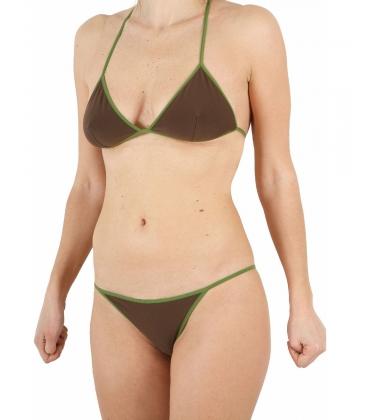 1246 elegante a fascia costume da bagno da donna nere con arricciatura nuovo misura 38-48 Y