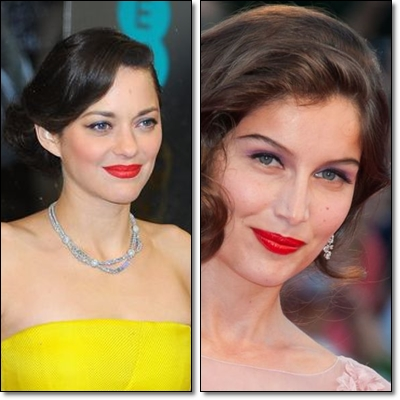 The French woman loves to wear red lipstick it is considered a real fashion accessory