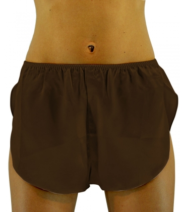 Sciara, Culotte raso di seta, Color marrone