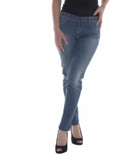 Twin Set, jeans skinny colore azzurro