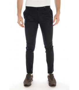 Daniele Alessandrini, pantalone in cotone col.Blu