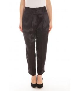 Givenchy, pantalone a vita alta 100% seta