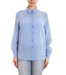 Stella McCartney, camicia oversize in seta