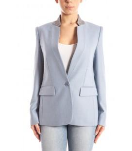 Stella McCartney, giacca maschile col.Azzurro
