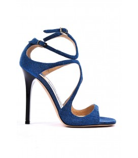Jimmy Choo, sandalo in denim