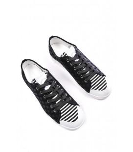 Dolce&Gabbana, sneakers basse col.nero stampa