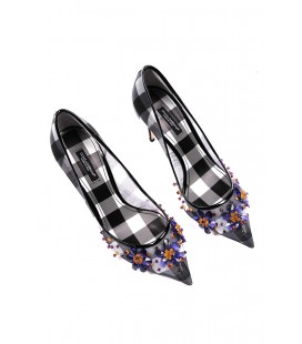 Dolce&Gabbana, décolleté a punta rete