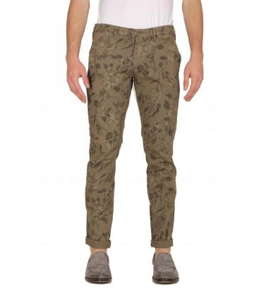 40Weft, pantalone classico stampa fantasia