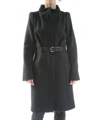 Cappotto nero, TWIN-SET