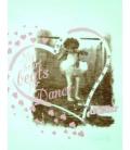 Dimensione Danza, T-shirt bianca stampa ballerina