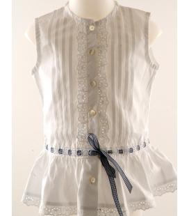 Lui&Lei, camicia bianca bimba