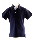 "LUI&LEI, POLO BLUE NAVY ""SQUARES"""