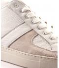 Yoshi Yamamoto, scarpa bassa in pelle bianca