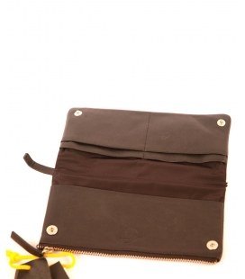 WALLET Y'S by MANDARINA, DARK BROWN
