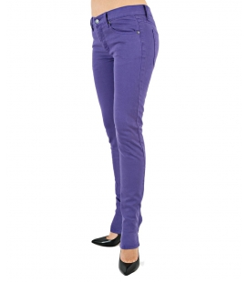 JEANS NARROW STRETCH, VIOLET