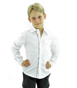 Frankie Morello shirt child white
