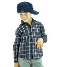 Frankie Morello, cappellino blu bimbo