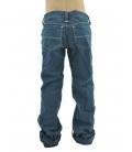 Pantalone blu bambina, Jaggy