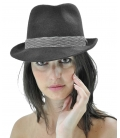 Borsalino model black with band