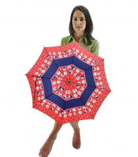 Umbrella geometric pattern , vintage