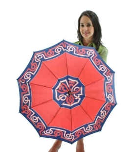 Umbrella patterned, vintage