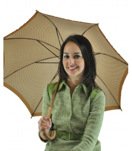 Umbrella brown, vintage