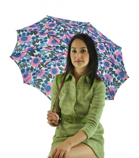 Umbrella floral pattern, vintage