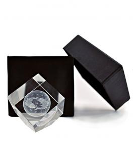 Poissons 3D cristal, cristal Impressions