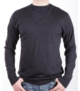 Shirt dark gray, Alessandrini